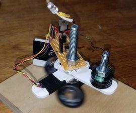 Fidget Spinner to Brushless Motor