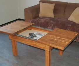 Coffee Table With Storage Compartment