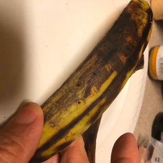When Is a Green Plantain Not a Green Plantain? When It's Yellow.
