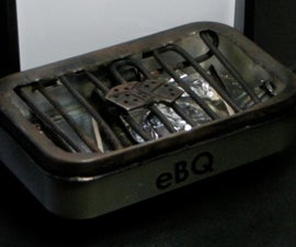 Make your own eBq BBQ Grill out of an Altoids box