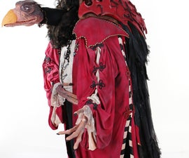 Skeksil, Dark Crystal Chamberlain (How-to Version) PART #1, the Structure and Basic Shape.