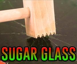 HOMEMADE SUGAR GLASS