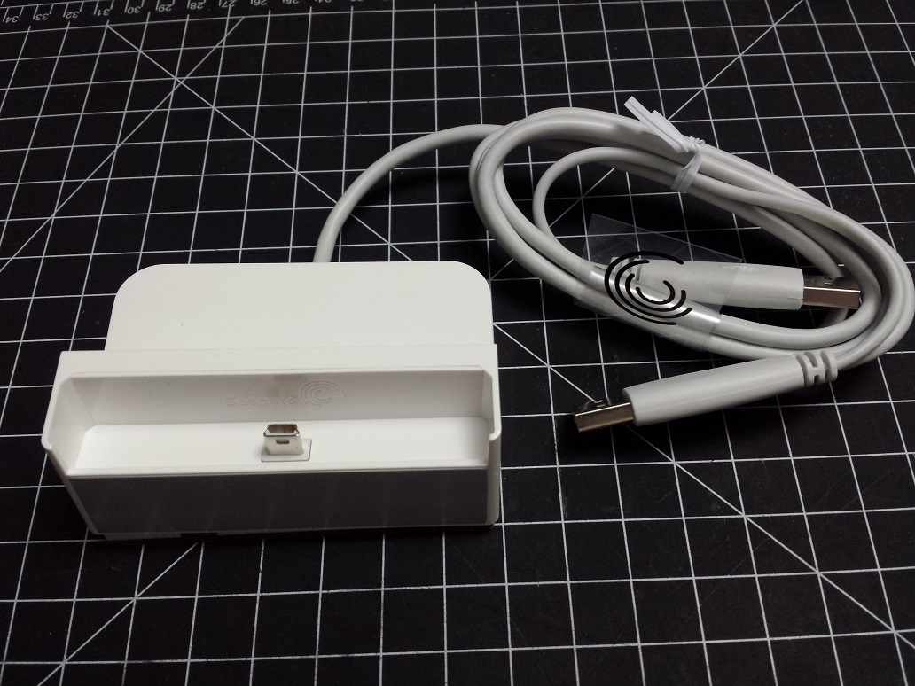 Picture of FreeAgent Go Dock USB Micro-B Conversion