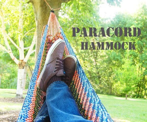 Paracord Hammock