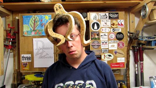The Cerebral Kraken - Halloween Headpiece