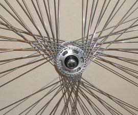 Custom star bikewheel