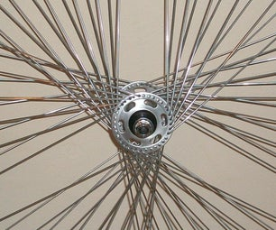 Custom Star Bikewheel