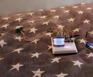 Arduino LCD (Nokia 5110) and Motion Sensor (HC-SR501)