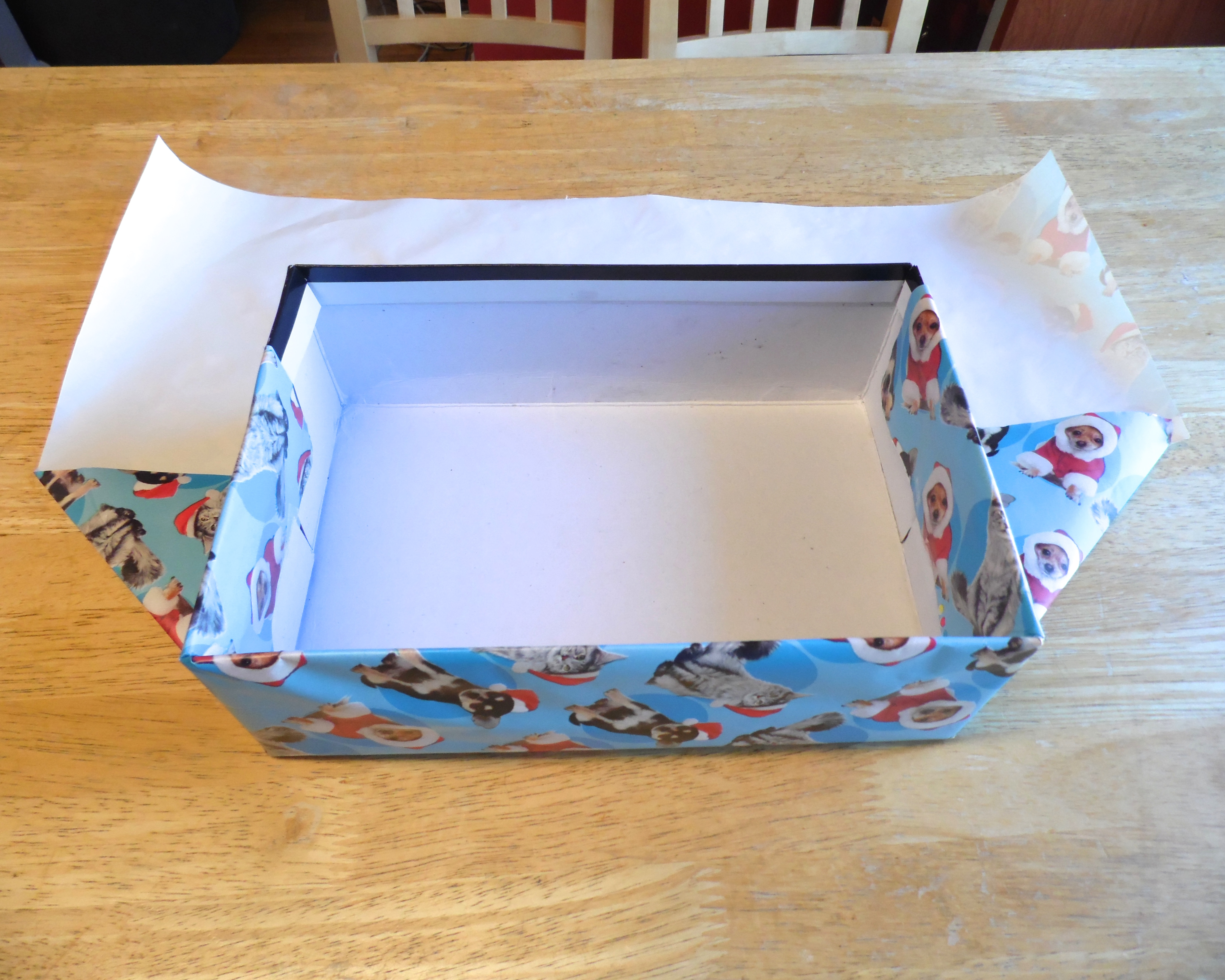 Picture of Wrap Each Half of the Box