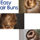 3 Easy Hair Buns