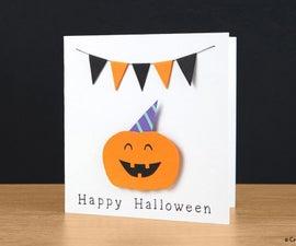 Very Happy Halloween card tutorial