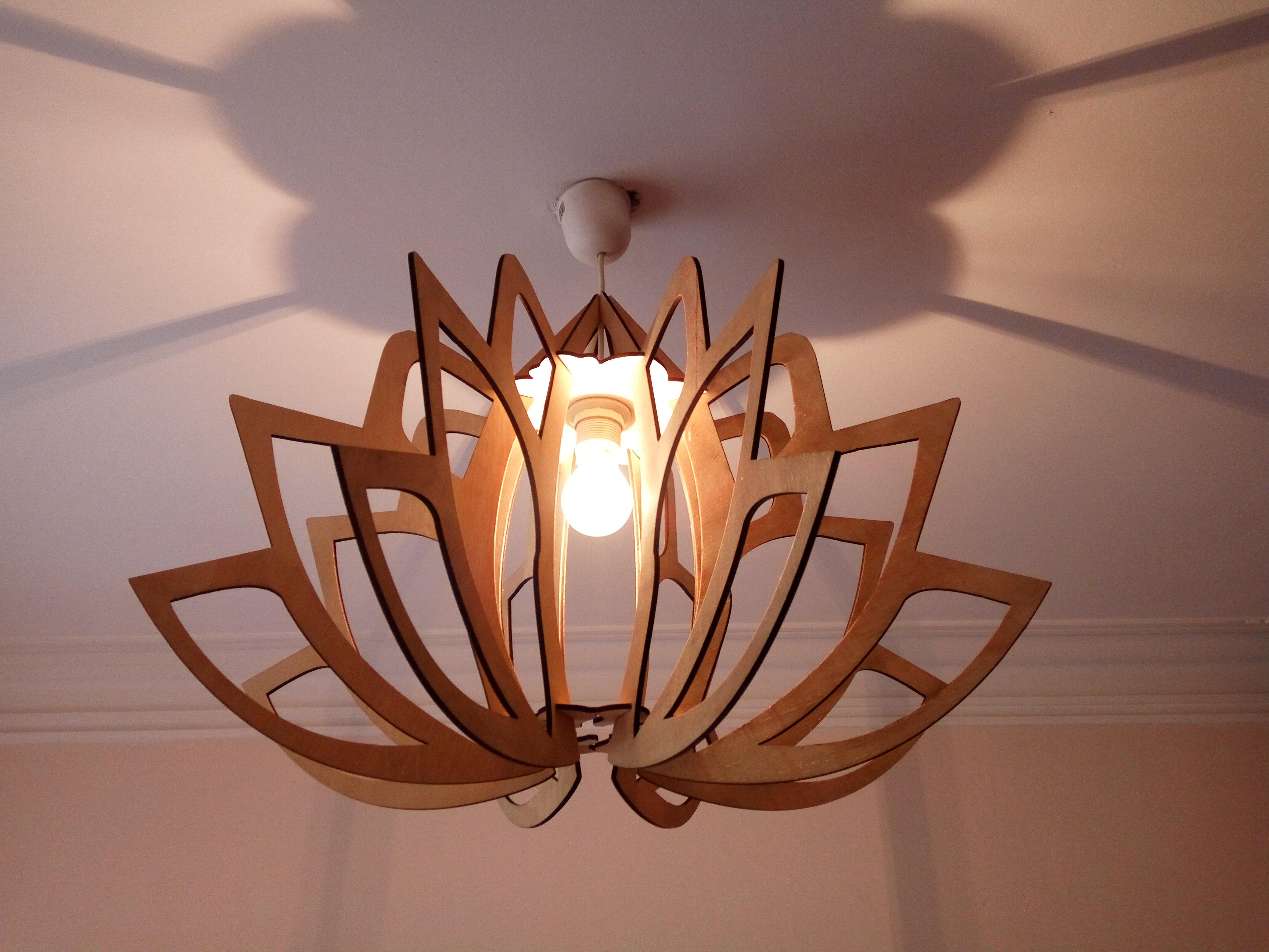 Picture of Flower Mandala Lamp