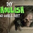 DIY 3D Skull Picture Frames