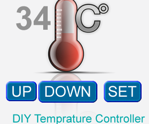 DIY AVR Microcontroller Based Temperature Monitoring and Control System