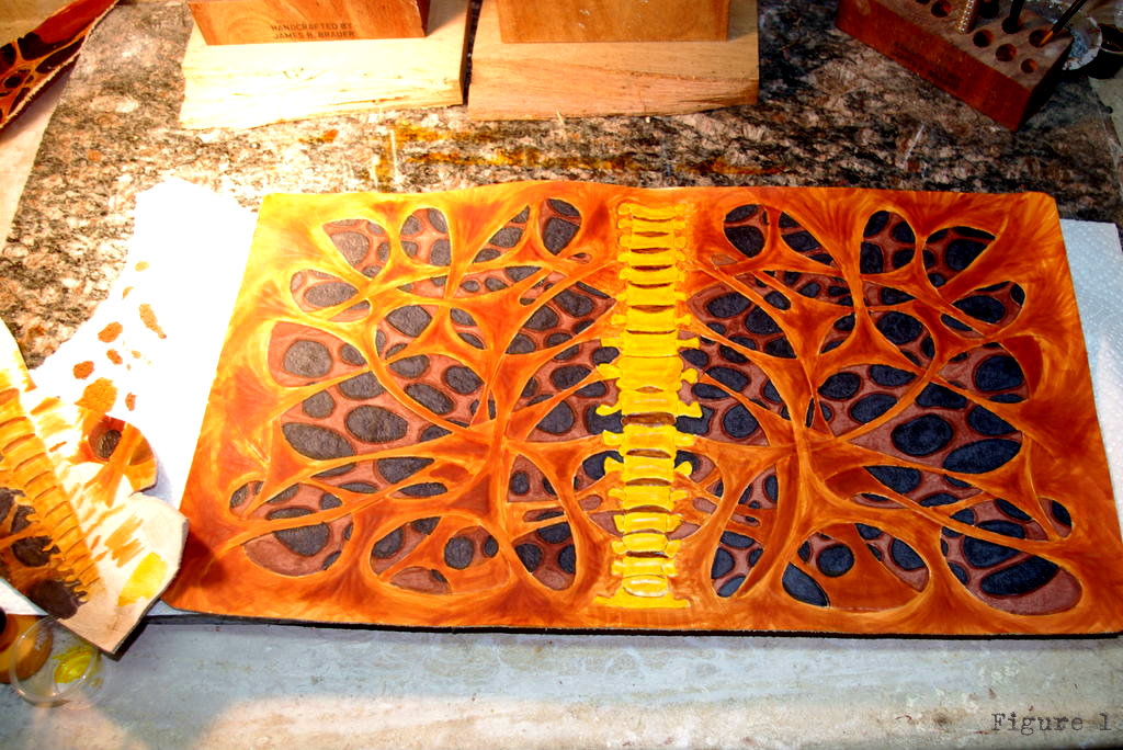 Picture of Dyeing the Design