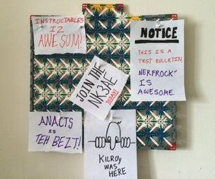 K'nex Hanging Bulletin Board