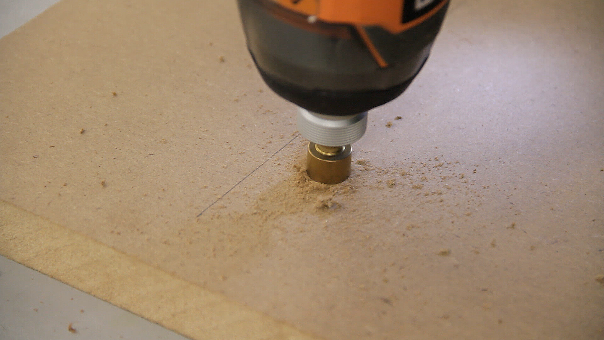 Picture of Attaching the Miter Bar