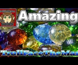 Amazing, Cheap & Easy, Cracked Gems & Marbles. for Fantasy & Crafts.