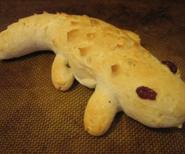 Alligator Bread (aka Nomsters)