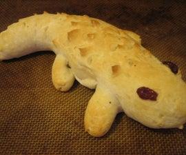 Alligator Bread (aka Nomsters)
