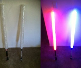 How to make your very own lightsaber! (for fighting)