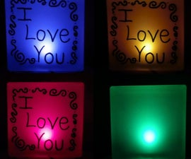 Color Changing Night Light with ATtiny