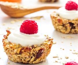 Healthy Breakfast Oatmeal Cups