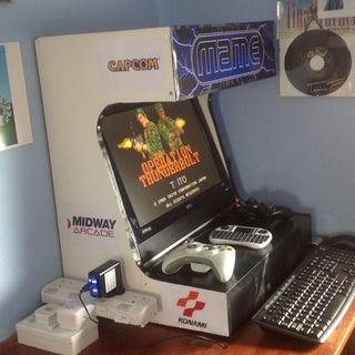 Old School Arcade Machine