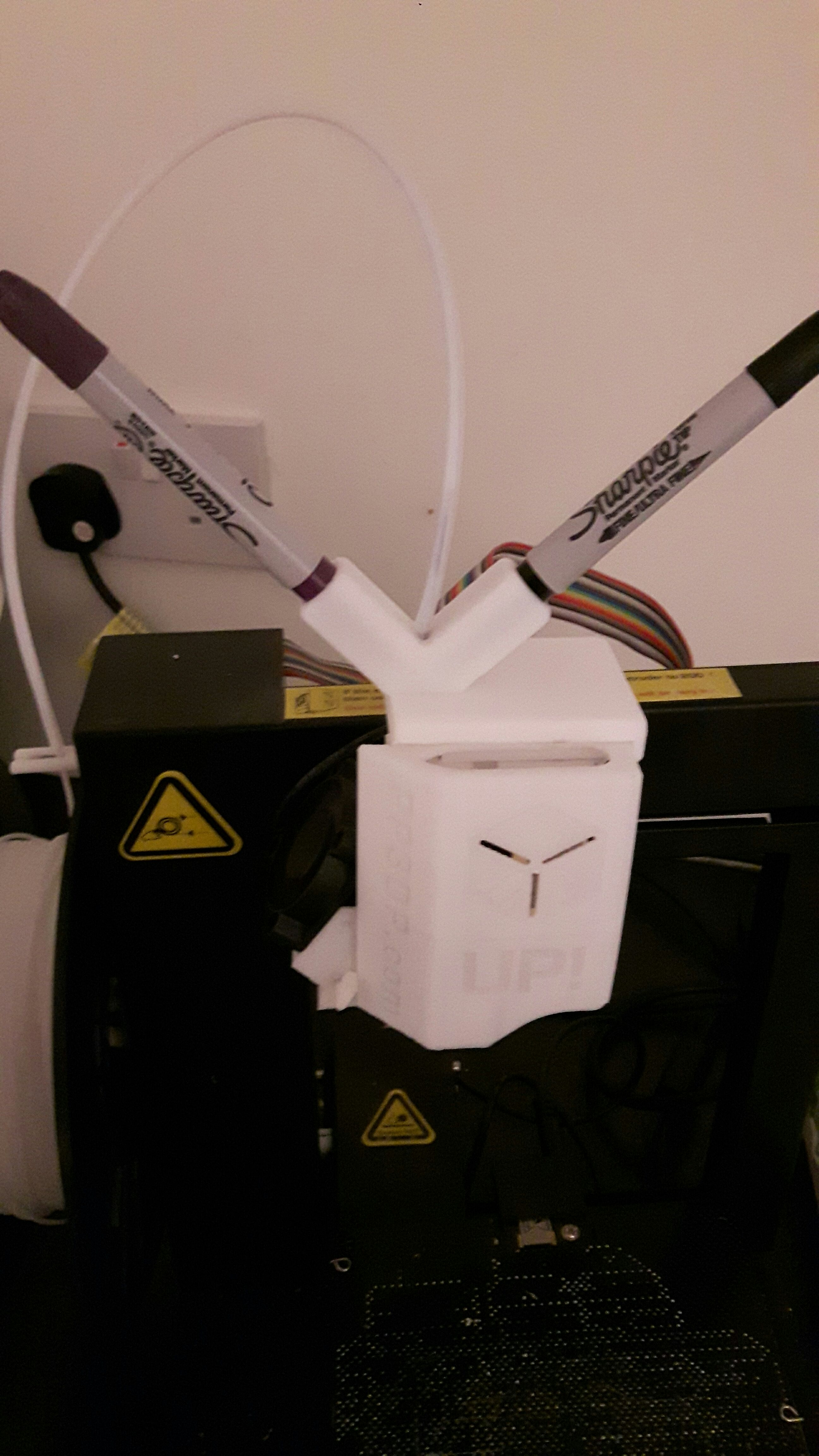 Picture of Extrusion Test Result