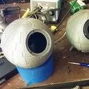 Parametric 3d Printed Death Star Speakers