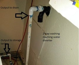 Grey Water System for Washing Machine