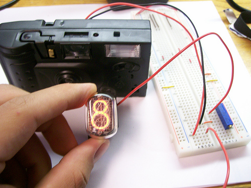 Picture of Disposable Camera Nixie Tube Driver