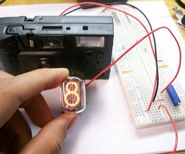 Disposable Camera Nixie Tube Driver
