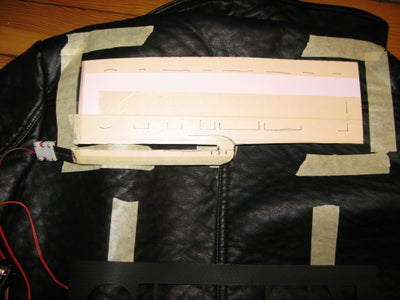 Cut EL Panels and Rough Patch Alignment