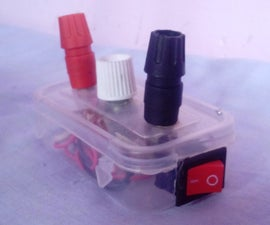 World's smallest variable power supply