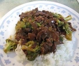Crock Pot Beef Broccoli