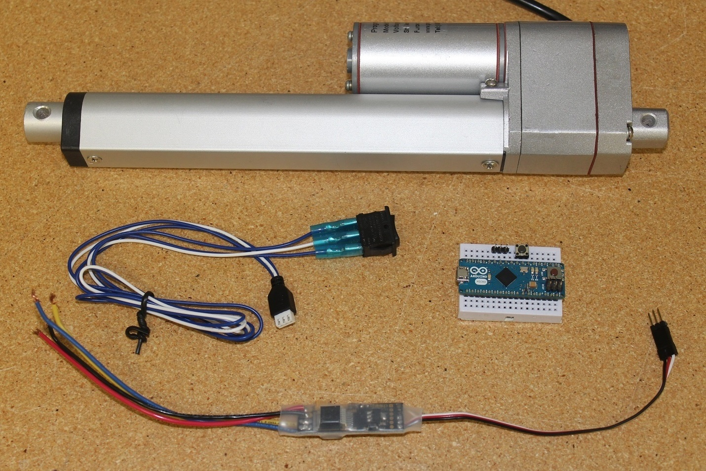 Picture of Potentiometer Feedback Control: Implementing a Soft Extend Limit