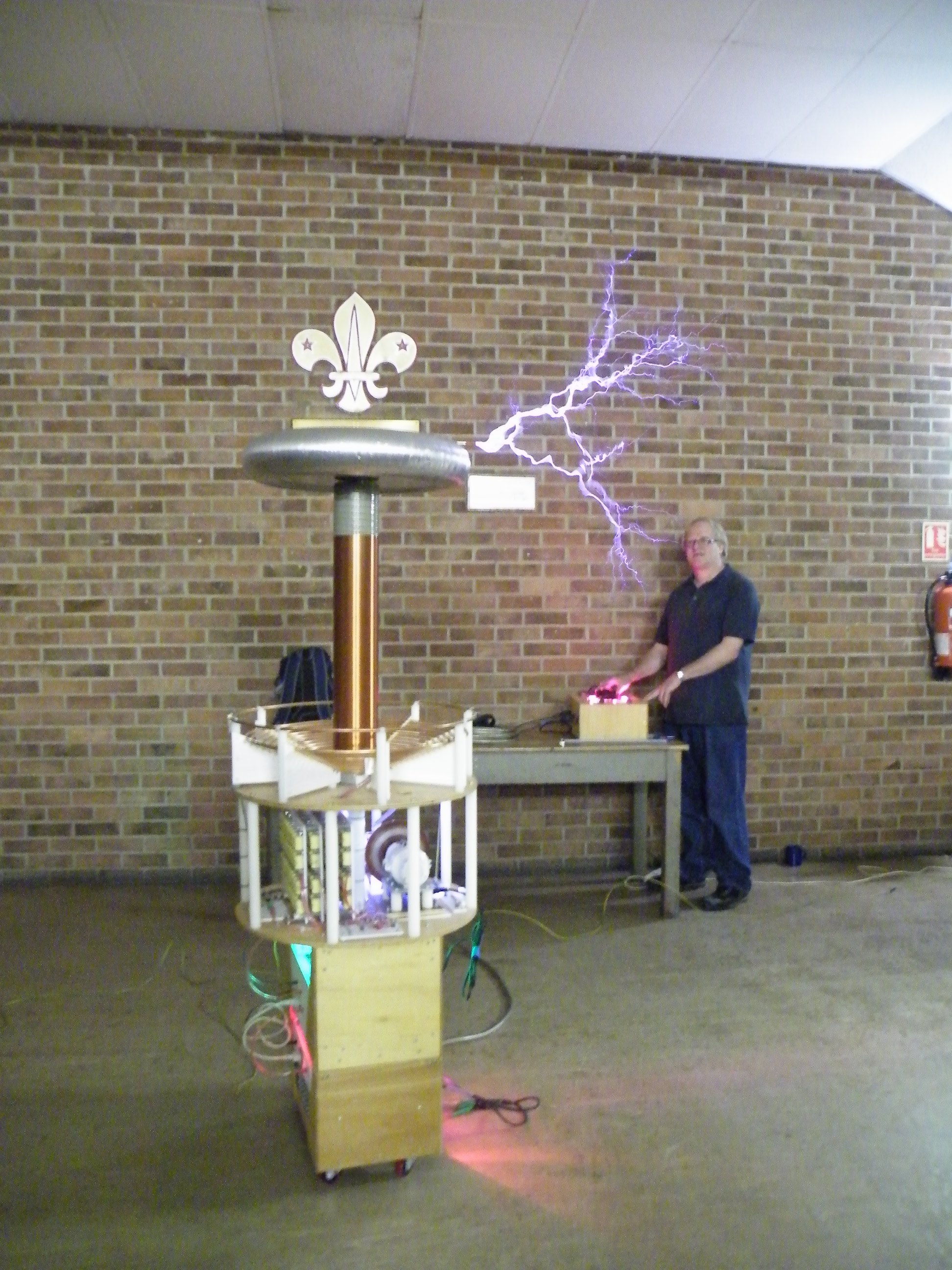 Picture of Tesla Coil Workshop