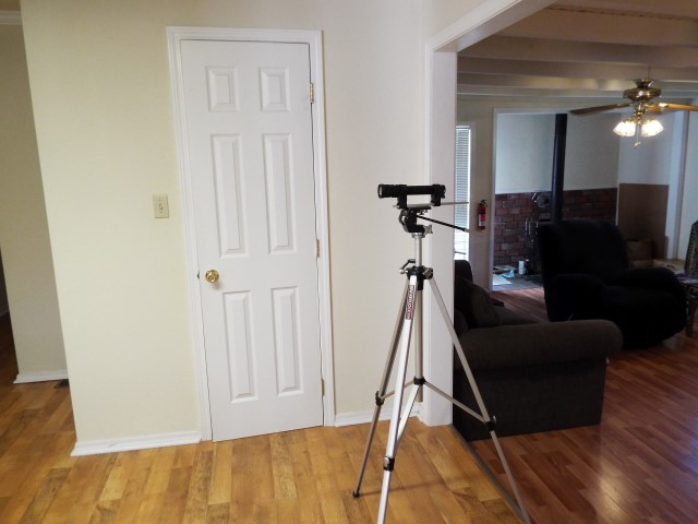Picture of Step 4: Place Your Flashlight on a Tripod or Holding Device.