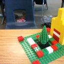 Lego Winter Holiday Yard