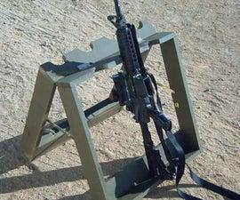 Homemade Mobile Gun Rack/Stand