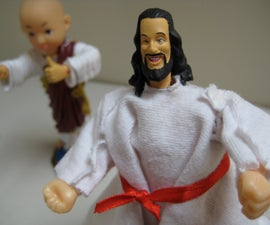 Kung-Fu Talking Jesus and Bald Baby Buddha Buddy