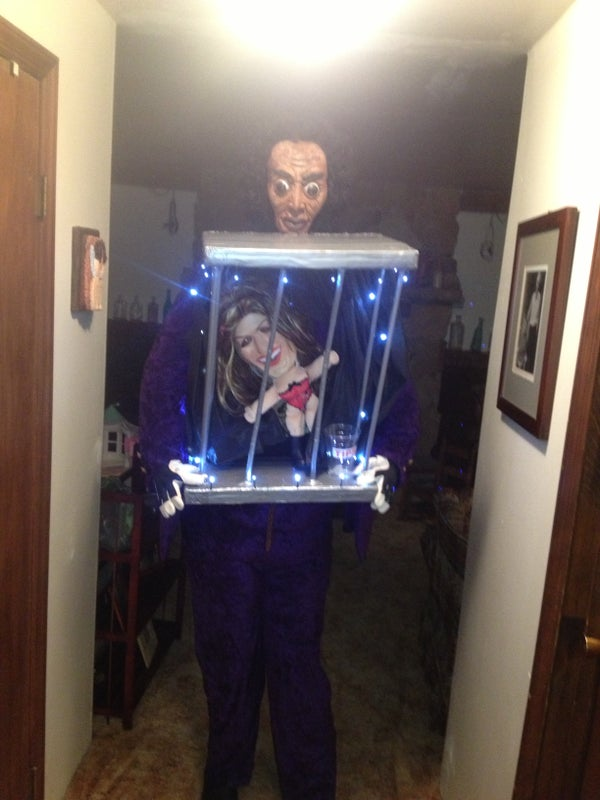 """""""Midge"""" the Cage Dancing Lil' Lady D.I.Y Halloween Costume"""