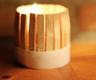 Clothespin Cup