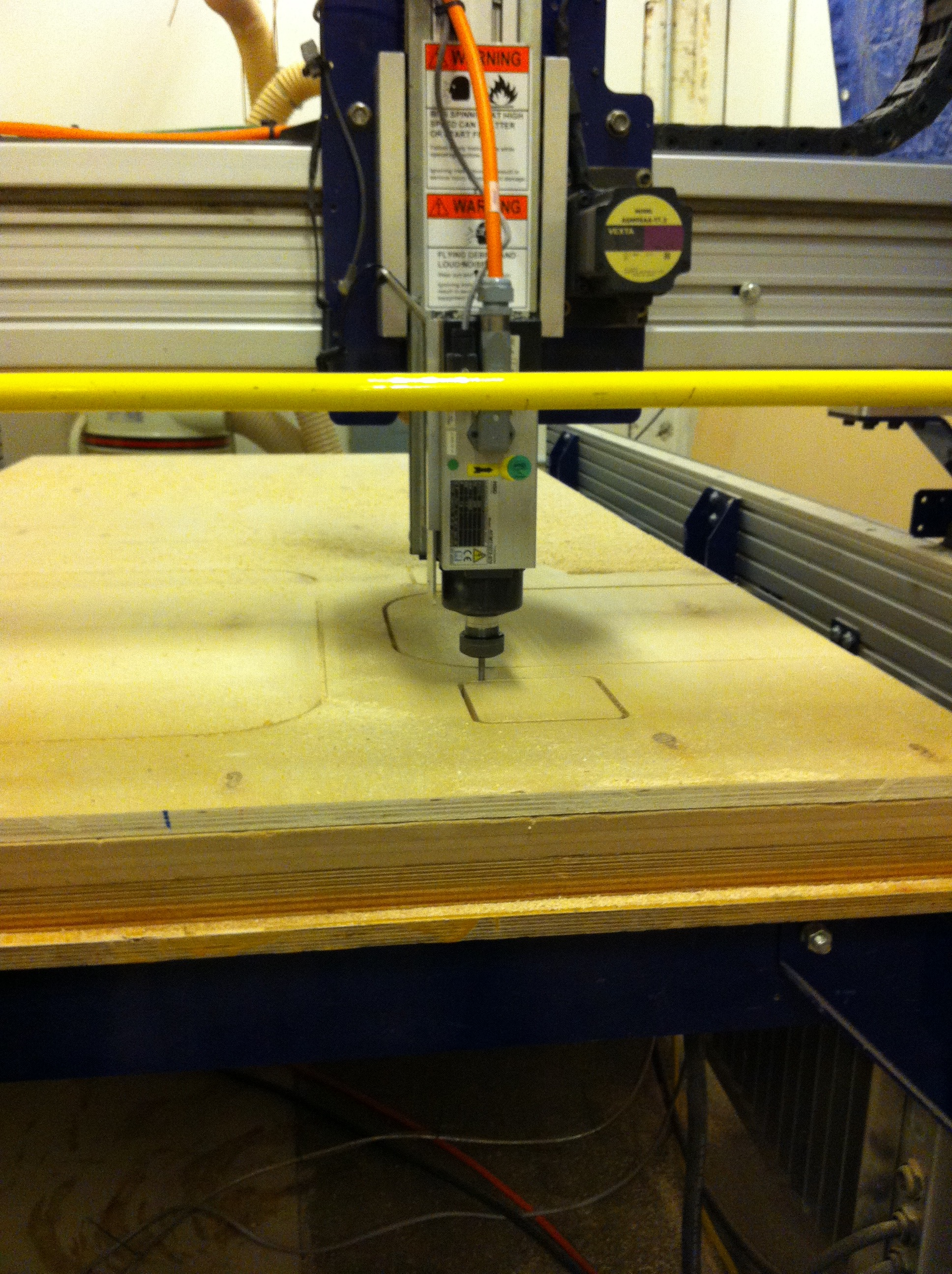 Picture of CNC Cut the Plywood Pieces