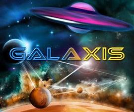 GALAXIS - an Arduino Retro Game