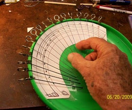 MAKE a MINI-HARP FROM a PLASTIC THROWING DISC