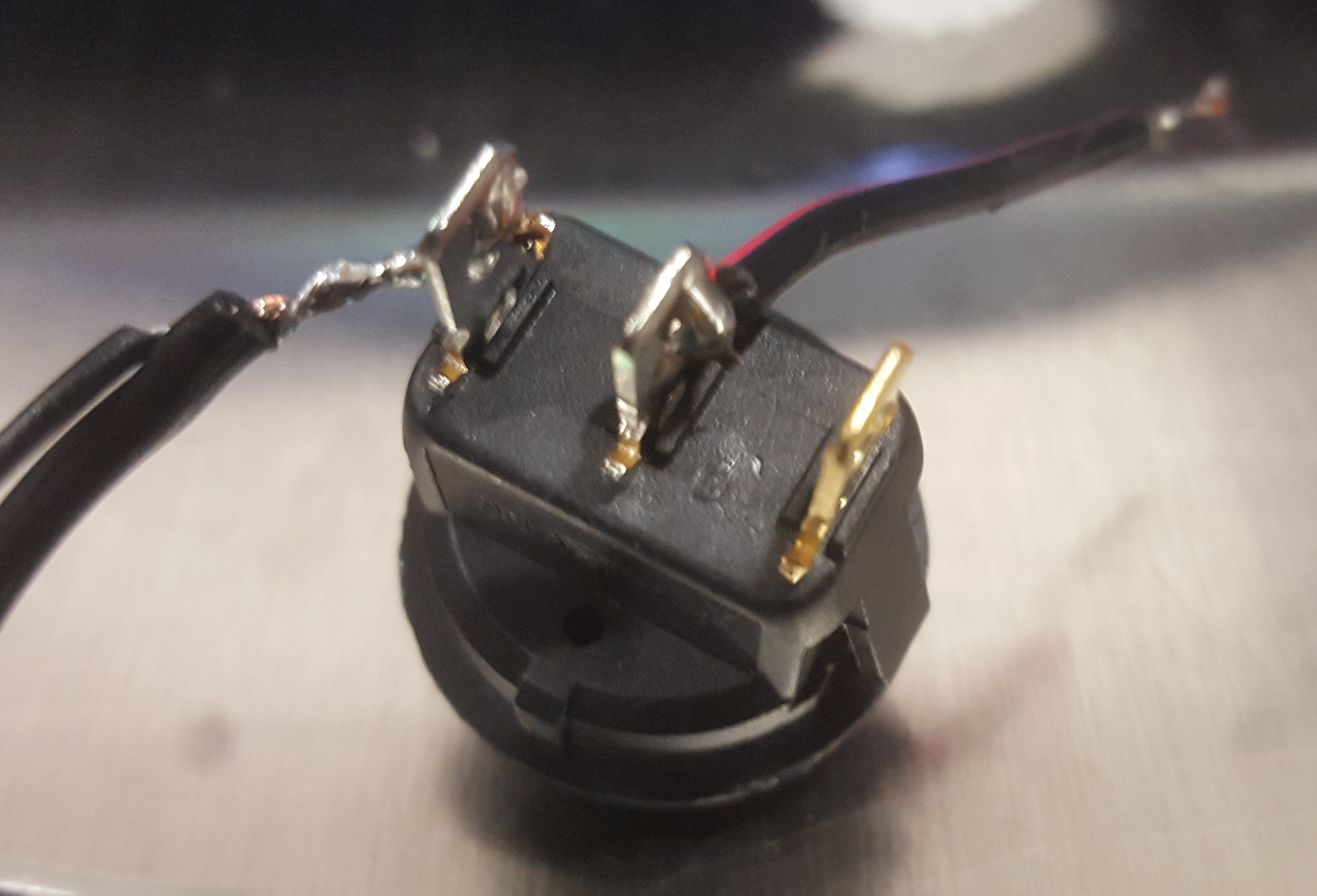 Picture of Create Positive Node and Solder Tap Switch