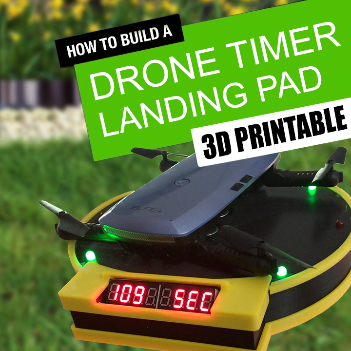 Picture of Automatic Drone Lap Timer - 3D Printed, Arduino Powered.