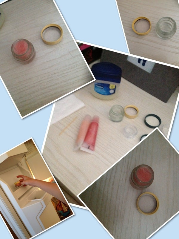 Vaseline Lipgloss Only 2 Ingredients!!